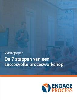 De 7 stappen van een succesvolle procesworkshop Cover